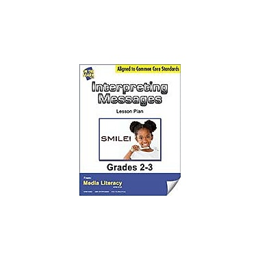On The Mark Press Interpreting Messages Lesson Plan Social Studies Workbook, Grade 2 - Grade 3 [eBook]