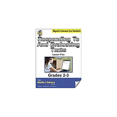 On The Mark Press Responding to and Evaluating Texts Lesson Plan Social Studies Workbook, Grade 2 - Grade 3 [eBook]