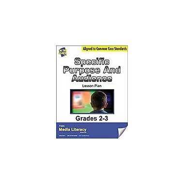 On The Mark Press Specific Purpose and Audience Lesson Plan Social Studies Workbook, Grade 2 - Grade 3 [eBook]