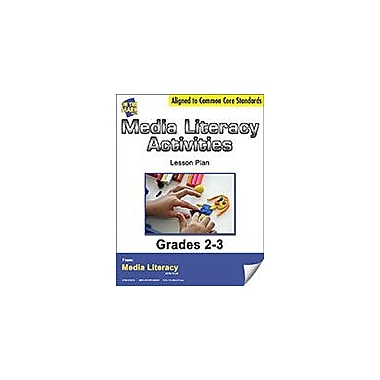 On The Mark Press Media Literacy Activites Lesson Plan Social Studies Workbook, Grade 2 - Grade 3 [eBook]