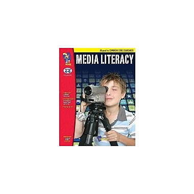 On The Mark Press Media Literacy Aligned to Common Core: Grades 4-6 Social Studies Workbook, Grade 4 - Grade 6 [Enhanced eBook]