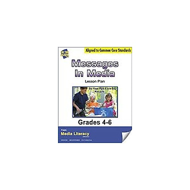 On The Mark Press Messages In Media Lesson Plan Social Studies Workbook, Grade 4 - Grade 6 [eBook]