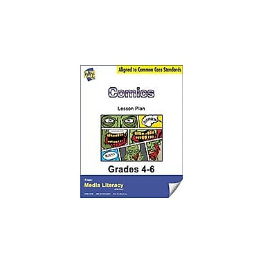 On The Mark Press Comics Lesson Plan Social Studies Workbook, Grade 4 - Grade 6 [eBook]