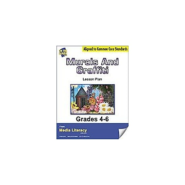 On The Mark Press Murals and Graffiti Lesson Plan Social Studies Workbook, Grade 4 - Grade 6 [eBook]