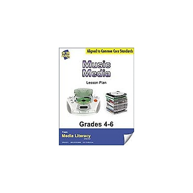 On The Mark Press Music Media Lesson Plan Social Studies Workbook, Grade 4 - Grade 6 [eBook]