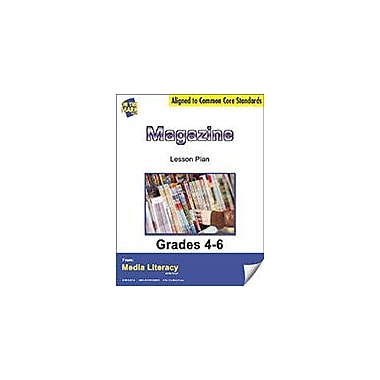 On The Mark Press Magazine Lesson Plan Social Studies Workbook, Grade 4 - Grade 6 [eBook]