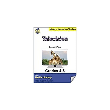 On The Mark Press Television Lesson Plan Social Studies Workbook, Grade 4 - Grade 6 [eBook]
