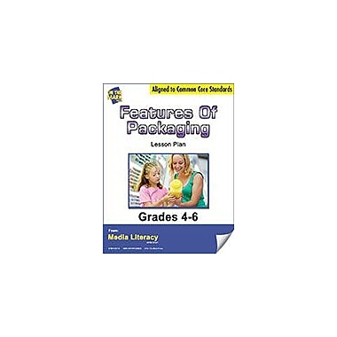 On The Mark Press Features of Packaging Lesson Plan Social Studies Workbook, Grade 4 - Grade 6 [eBook]