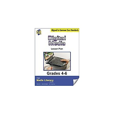 On The Mark Press Digital Media Lesson Plan Social Studies Workbook, Grade 4 - Grade 6 [eBook]
