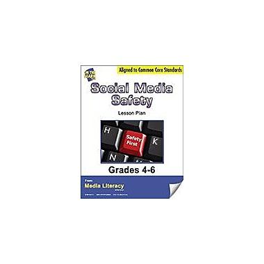 On The Mark Press Social Media Safety Lesson Plan Social Studies Workbook, Grade 4 - Grade 6 [eBook]