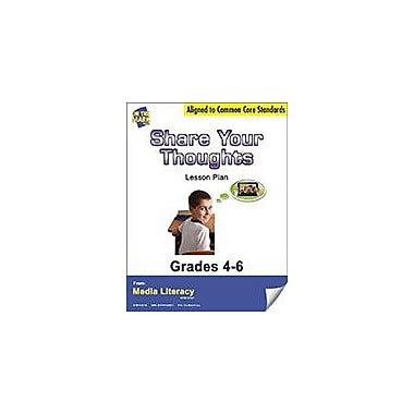 On The Mark Press Share Your Thoughts Lesson Plan Social Studies Workbook, Grade 4 - Grade 6 [eBook]