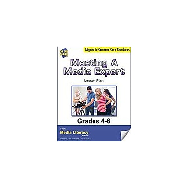 On The Mark Press Meeting A Media Expert Lesson Plan Social Studies Workbook, Grade 4 - Grade 6 [eBook]