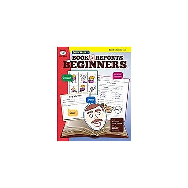On The Mark Press Book Reports For Beginners Gr. 1-2 Aligned to Common Core Problem Solving Workbook, Grade 1 - Grade 2 [eBook]