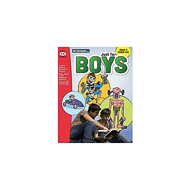 On The Mark Press Just For Boys Reading Comprehension Gr. 6-8 Aligned to Common Core Workbook [Enhanced eBook]
