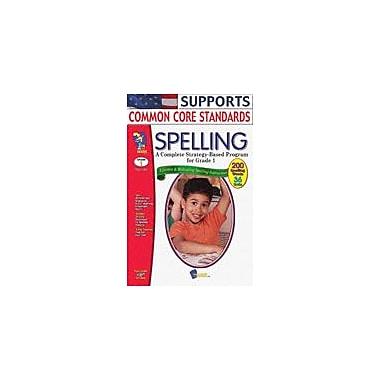 On The Mark Press Spelling Grade 1 Language Arts Workbook, Grade 1 [eBook]