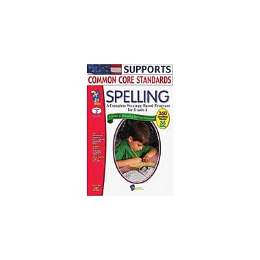 On The Mark Press Spelling Grade 2 Language Arts Workbook, Grade 2 [eBook]
