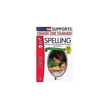 On The Mark Press Spelling Grade 2 Language Arts Workbook, Grade 2 [Enhanced eBook]