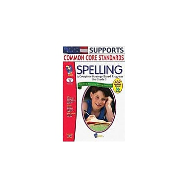 On The Mark Press Spelling Grade 3 Language Arts Workbook, Grade 3 [Enhanced eBook]