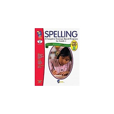 On The Mark Press Spelling Grade 4 Language Arts Workbook, Grade 4 [eBook]