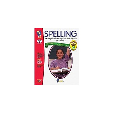 On The Mark Press Spelling Grade 5 Language Arts Workbook, Grade 5 [Enhanced eBook]
