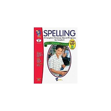 On The Mark Press Spelling Grade 6 Language Arts Workbook, Grade 6 [eBook]
