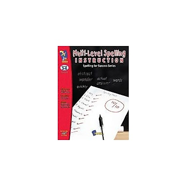 On The Mark Press Multi-Level Spelling Instruction Language Arts Workbook, Grade 3 - Grade 6 [eBook]