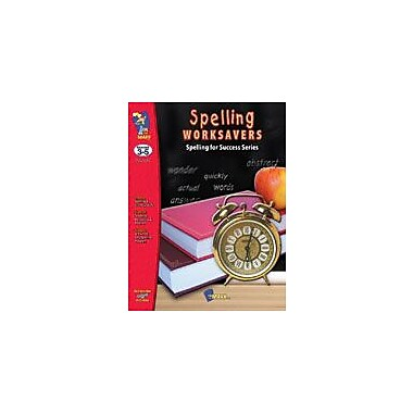 On The Mark Press Spelling Worksavers Number 1 Language Arts Workbook, Grade 3 - Grade 5 [eBook]