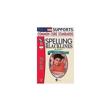 On The Mark Press Spelling Blacklines Grade 1 Language Arts Workbook, Grade 1 [Enhanced eBook]