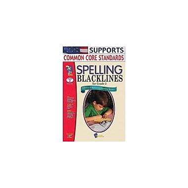 On The Mark Press Spelling Blacklines Grade 2 Language Arts Workbook, Grade 2 [eBook]