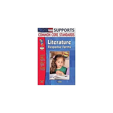 On The Mark Press Literature Response Forms Language Arts Workbook, Grade 1 - Grade 3 [eBook]