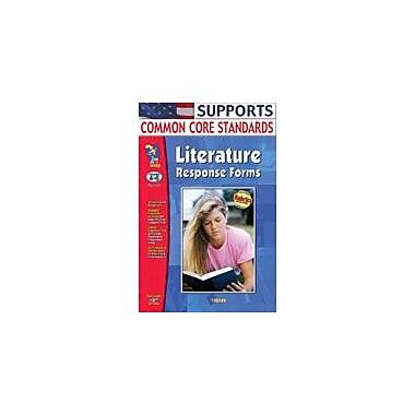 On The Mark Press Literature Response Forms Gr. 4-6 Language Arts Workbook, Grade 4 - Grade 6 [eBook]
