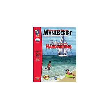 On The Mark Press Beginning and Practice Manuscript Reading & Writing Workbook, Preschool - Grade 2 [Enhanced eBook]