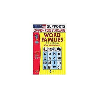 On The Mark Press Word Families 2, 3, 4 Letter Words Big Book Language Arts Workbook, Grade 1 - Grade 3 [Enhanced eBook]