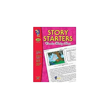 On The Mark Press Story Starters Gr. 4-6 Language Arts Workbook, Grade 4 - Grade 6 [eBook]