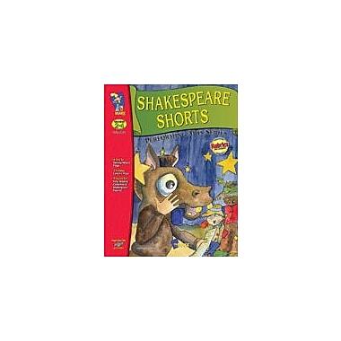 On The Mark Press Shakespeare Shorts, Performing Arts Language Arts Workbook, Grade 2 - Grade 4 [eBook]