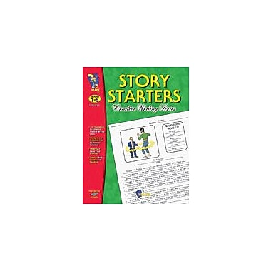 On The Mark Press Story Starters Language Arts Workbook, Grade 1 - Grade 6 [eBook]