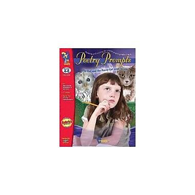 On The Mark Press Poetry Prompts Gr. 4-6 Language Arts Workbook, Grade 4 - Grade 6 [eBook]