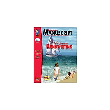 On The Mark Press Beginning Manuscript, Traditional Style Language Arts Workbook, Preschool - Grade 2 [eBook]