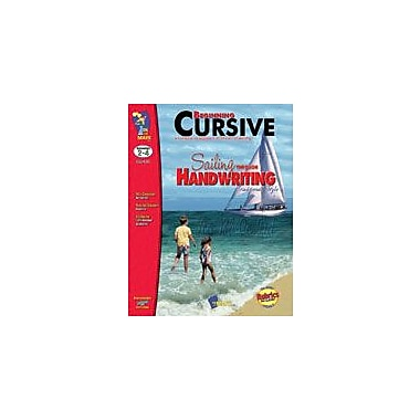 On The Mark Press Beginning Cursive, Traditional Style Reading & Writing Workbook, Grade 2 - Grade 4 [Enhanced eBook]