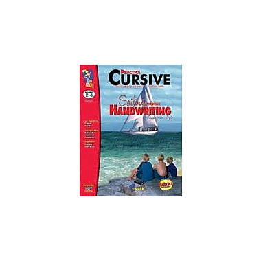 On The Mark Press Practice Cursive, Traditional Style Reading & Writing Workbook, Grade 2 - Grade 4 [eBook]