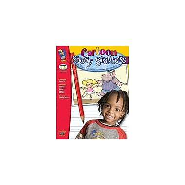 On The Mark Press Cartoon Story Starters Language Arts Workbook, Grade 1 - Grade 3 [Enhanced eBook]