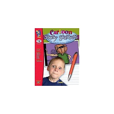 On The Mark Press Cartoon Story Starters Language Arts Workbook, Grade 1 - Grade 3 [eBook]