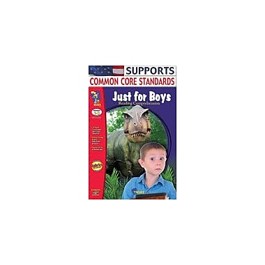 On The Mark Press Just For Boys Reading Comprehension Language Arts Workbook, Grade 1 - Grade 3 [eBook]