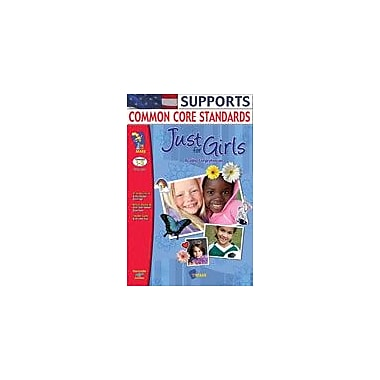 On The Mark Press Just For Girls Reading Comprehension Language Arts Workbook, Grade 1 - Grade 3 [Enhanced eBook]