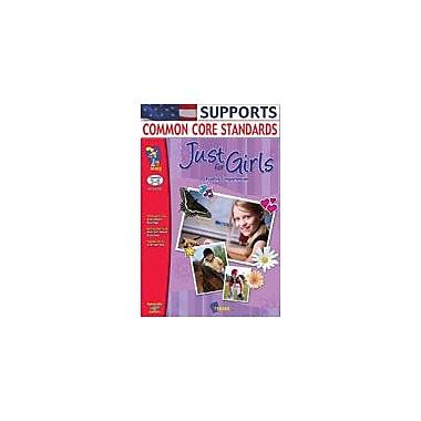 On The Mark Press Just For Girls Reading Comprehension Gr. 3-6 Language Arts Workbook, Grade 3 - Grade 6 [Enhanced eBook]