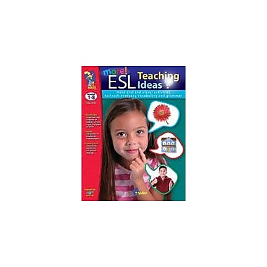 On The Mark Press More Esl Teaching Ideas Language Arts Workbook, Grade 1 - Grade 8 [eBook]