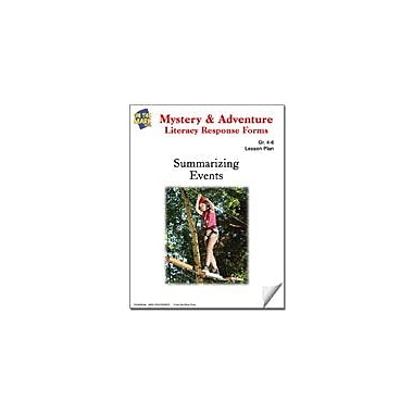On The Mark Press Mystery and Adventure Response Forms: Summarizing Events Reading & Writing Workbook, Grade 4 - Grade 6 [eBook]
