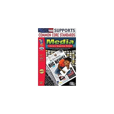 On The Mark Press Media Literacy Response Forms: Grades 4-6 Language Arts Workbook, Grade 4 - Grade 6 [Enhanced eBook]