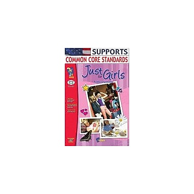 On The Mark Press Just For Girls Reading Comprehension Gr. 6-8 Language Arts Workbook, Grade 6 - Grade 8 [Enhanced eBook]