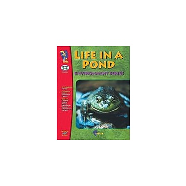 On The Mark Press Life In A Pond Science Workbook, Grade 3 - Grade 4 [eBook]